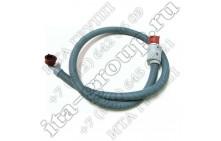 Заливной шланг с запорным клапаном Indesit С00050761