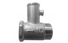"""Обратный клапан для водонагревателя 1/2"""" 6 бар с заглушкой 100502"""