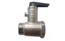 """Клапан для водонагревателя 1/2"""" 8.5 бар с ручкой 100504"""