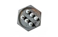 "Блок ТЭНов RDT 12,0 кВт 420 мм D74 мм G 2,5"" 68712"
