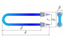 ТЭН-60A13/2.0J220-10-01
